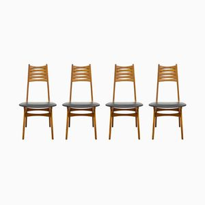 Mid-Century Model 83 Teak Chairs by Niels Otto Møller for Boltinge Stolefabrik, Set of 4