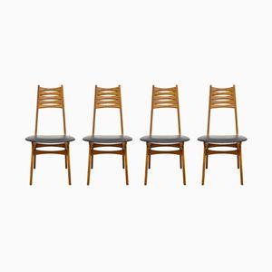 Mid-Century Modell 83 Teak Stühle von Niels Otto Møller für Boltinge Stolefabrik, 4er Set