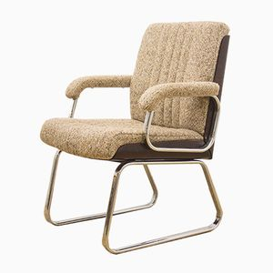 Danish Rosewood and Fabric Armchair, 1960s