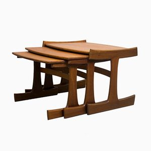 Danish Range Teak Nest of Tables from G-Plan