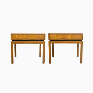 Mid-Century Teak Nightstands from Greaves & Thomas, Set of 2