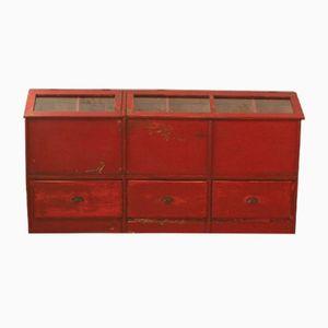 Vintage Grocery Storage Cabinet