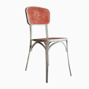 French Aluminium Chair from Gaston Viort, 1940s