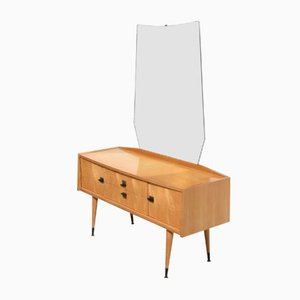 Wooden Dressing Table, 1950s