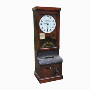 Antique Employer's Time-Keeping Clock