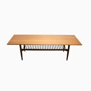 Mid-Century Scandinavian Range Teak Coffee Table by Ib Kofod-Larsen for G-Plan