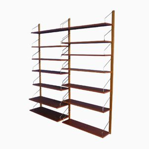Teak Shelving System by Poul Cadovius for Cado, 1950s