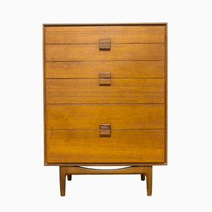 Mid-Century Danish Range Teak Chest of Drawers by Ib Kofod Larsen for G-Plan