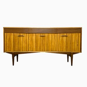 Teak & Zebrawood Sideboard by Richard Hornby for Heals