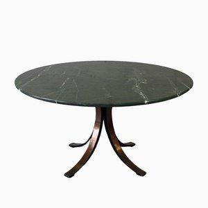 Round Marble Dining Table by Osvaldo Borsani for Tecno, 1964