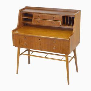 Schwedischer Teak Schreibtisch von SMI, 1967