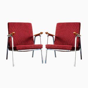 Vintage Chrome Armchairs, 1970s, Set of 2