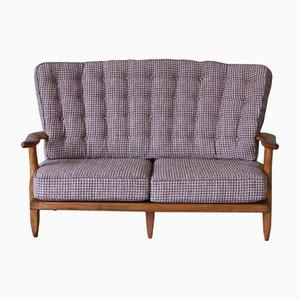 Zwei-Sitzer Sofa von Guillerme et Chambron, 1950er