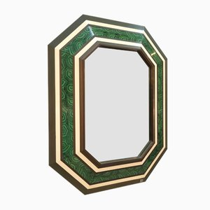 Large Mirror by Jean Claude Mahey, 1980s