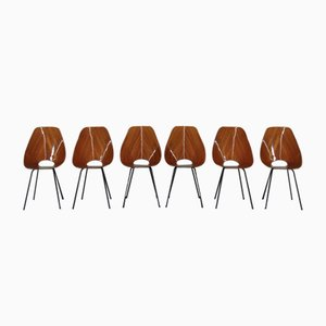 Vintage Medea Chairs by Vittorio Nobili for Fratelli Tagliabue, Set of 6