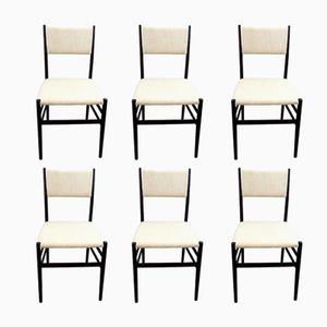 Leggera Chairs by Giò Ponti for Cassina, 1955, Set of 6