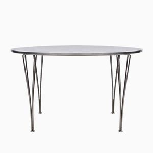 Mid-Century B625 Table by Arne Jacobsen for Fritz Hansen