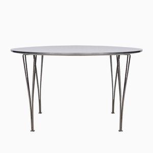Mid-Century B625 Tisch von Arne Jacobsen für Fritz Hansen