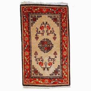 Handgemachter Mongolischer Vintage Teppich, 1970er