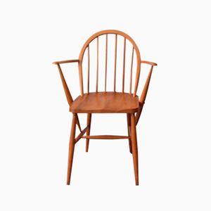 Vintage Windsor Armlehnstuhl aus Esche von Lucian Ercolani für Ercol