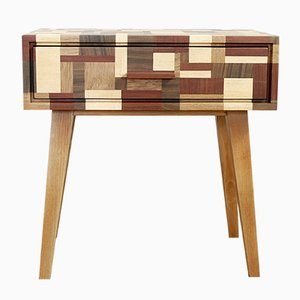 Table de Chevet Mid-Century, Suisse