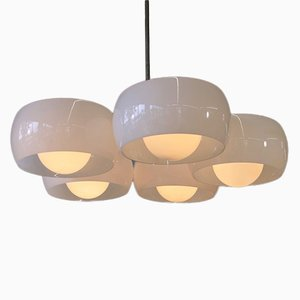 Vintage Triclinio Deckenlampe mit 5 Leuchten von Vico Magistretti für Artemide