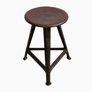 Three-Cornered Stool from Rowac, 1930s