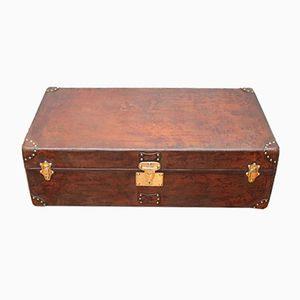 Leather Trunk by Goyard, 1910