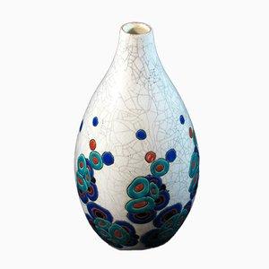 Art Deco Vase von Charles Catteau für Boch Frères, 1930er