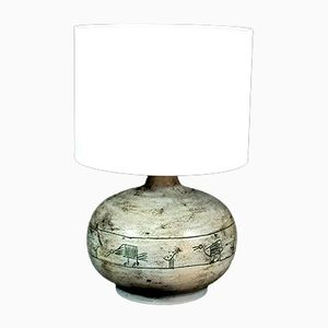 Vintage Ceramic Table Lamp by Jacques Blin