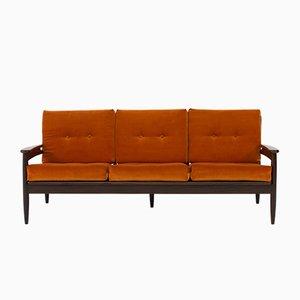 Organisches Dänisches Mid-Century Modern Sofa von Lifa, 1960er