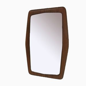 Vintage Teak Mirror, 1960s