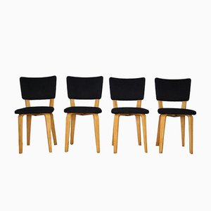Vintage Dining Chairs by Cor Alons for Gouda den Boer, Set of 4