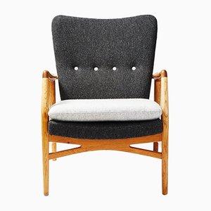 Model 215 Lounge Chair by Kurt Olsen for Slagelse Mobelvaerk, 1954