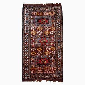 Persian Kurdish Handmade Rug, 1880s