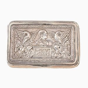 Russian Cigarette Case with Depiction of Alexander I, 1816