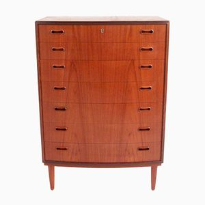 Vintage Danish Modern Chest of Drawers from Poul M. Jessen