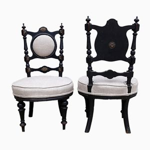 Antique Victorian Chairs, Set of 2