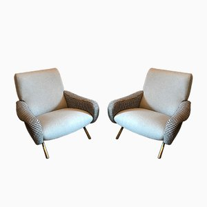 Lady Chairs by Marco Zanuso for Arflex, 1950s, Set of 2
