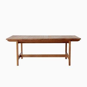 Niedriger Dänischer Eiche Tisch von Aksel Dahl für KP Møbler, 1960er