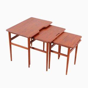 Tables Gigognes par Kurt Østervig pour Jason Møbler, 1960s