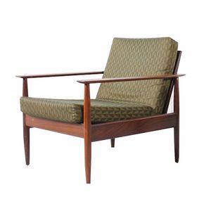 Beech Easy Chair, 1960s