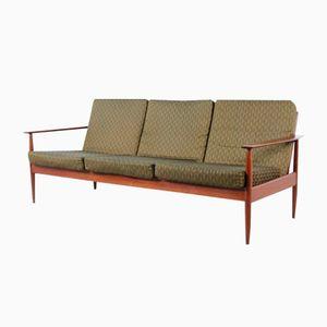 Vintage Sofa aus Buche, 1960er