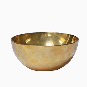 Brass Bowl by Pierre Forssell for Skultuna, 1968