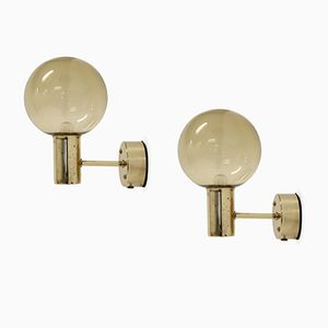 Wall Lights by Hans Agne Jakobsson, 1960s, Set of 2