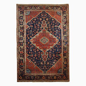 Persischer Handgeknüpfter Vintage Malayer Teppich, 1920er