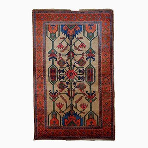 Antique Persian Kurdish Handmade Rug, 1900s