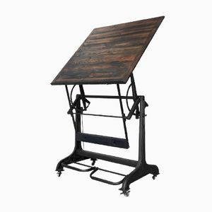 Industrial Drafting Table From Nestler, 1930s