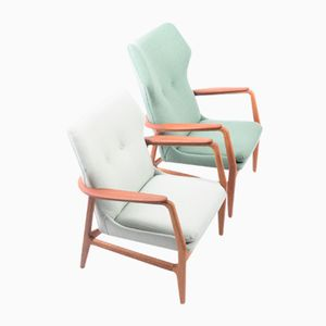 Karen & Edith Lounge Chairs by Aksel Bender Madsen for Bovenkamp, 1950s, Set of 2