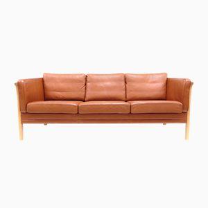Mid-Century Danish Three-Seater Sofa by Mogens Hansen